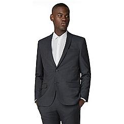 Red Herring - Blue grey semi plain slim fit jacket