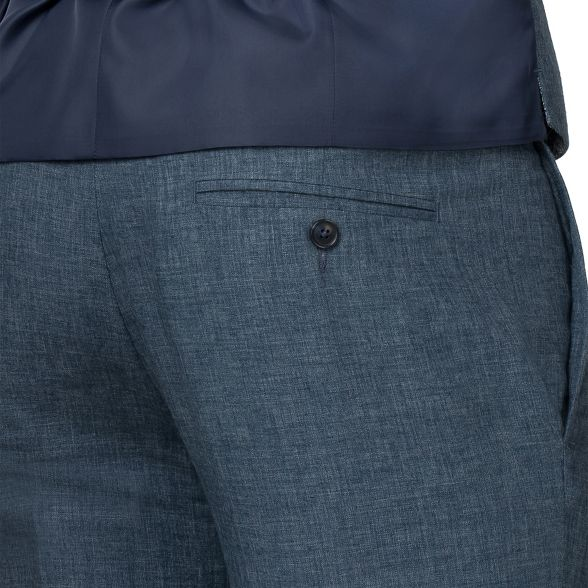 tailored Green Racing trousers Blue linen q0Sdg1t