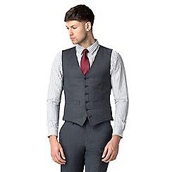 Hammond & Co. by Patrick Grant - Grey blue textured waistcoat