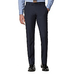 Hammond & Co. by Patrick Grant - Blue check tailored trousers