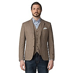 Jeff Banks - Brown donegal blazer