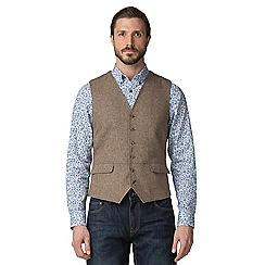 Jeff Banks - Brown donegal waistcoat