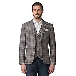 Jeff Banks - Grey Check Blazer