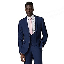 Occasions - Blue plain tailored jacket