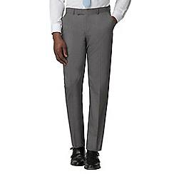 Occasions - Grey plain tailored trousers