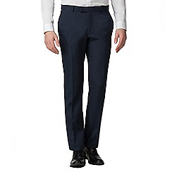Red Herring - Navy semi plain slim fit trousers