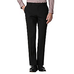 The Collection - Black plain slim fit trouser