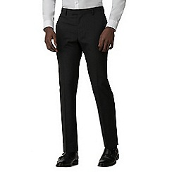 Red Herring - Charcoal tuxedo slim fit trousers