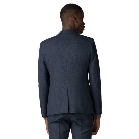 skinny jaspe jacket check Red Blue Herring fit xqIFn4vp