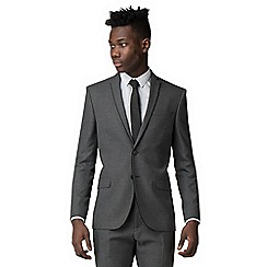 Red Herring - Charcaol razor edge slim fit suit