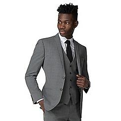 Red Herring - Summer grey check slim fit jacket