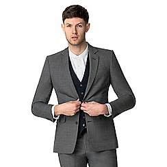 Hammond & Co. by Patrick Grant - Big and tall grey texture modern jacket