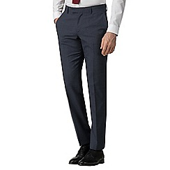 Ben Sherman - Airforce waffle weave tailored fit trousers