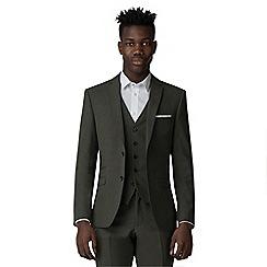Ben Sherman - Sage green tonic slim fit jacket