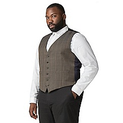 Hammond & Co. by Patrick Grant - Green with red over check waistcoat