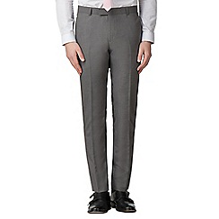 Occasions - Grey plain skinny fit trousers
