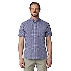 Jeff Banks - Blue gingham shirt