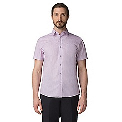 Jeff Banks - Pink deco print shirt