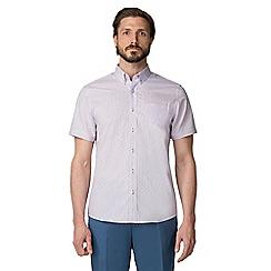 Jeff Banks - Lilac dobby shirt
