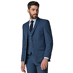 Racing Green - Bright blue pick n pick tailored jacket