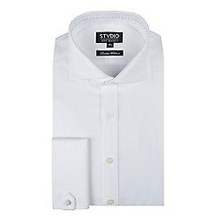Stvdio by Jeff Banks - Stvdio by jeff banks white diamond jacquard shirt