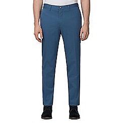 Jeff Banks - Blue stretch chino trousers
