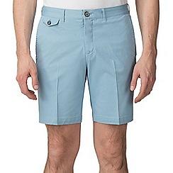 Jeff Banks - Light Blue Stretch Chino shorts