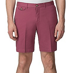 Jeff Banks - Red Stretch Chino shorts