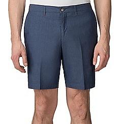 Jeff Banks - Dark Blue Chambray shorts