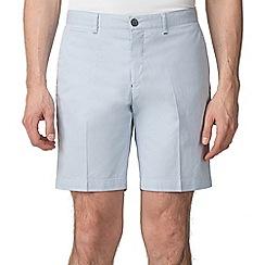 Jeff Banks - Light Blue Mini Stripe shorts