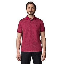 Jeff Banks - Pink Shadow polo shirt