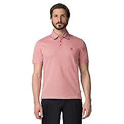 Jeff Banks - Coral Microtooth polo shirt
