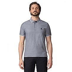 Jeff Banks - Grey Micro polo shirt