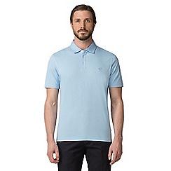 Jeff Banks - Blue dot print polo shirt