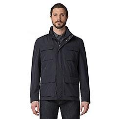 Jeff Banks - Navy four pocket adventure jacket