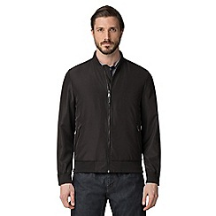 Jeff Banks - Black lightweight bomber jacket