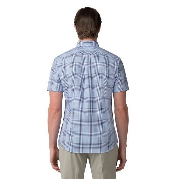 Banks graded Jeff check shirt Blue gOqqv6
