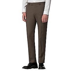 Red Herring - Brown jasper skinny fit trousers
