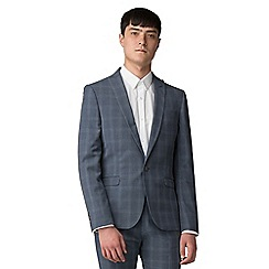 Red Herring - Blue overcheck skinny fit jacket