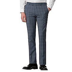 Red Herring - Blue overcheck skinny fit trousers