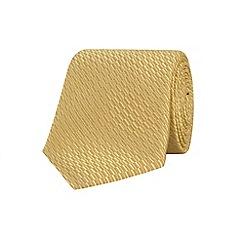 Stvdio by Jeff Banks - Gold irregular textured tie