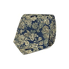 Stvdio by Jeff Banks - Gold graduated floral tie