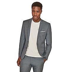 Ben Sherman - Pale blue melange skinny fit jacket