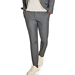 Ben Sherman - Pale blue melange skinny fit trousers