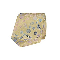 Stvdio by Jeff Banks - Gold tonal bouquet tie