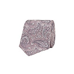 Stvdio by Jeff Banks - Spink linen paisley tie