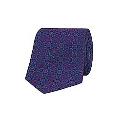 Stvdio by Jeff Banks - Purple mandala tie
