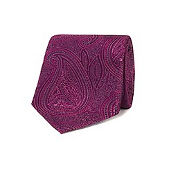 Stvdio by Jeff Banks - Rose ornate paisley tie