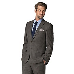 Racing Green - Brown heritage check tailored suit