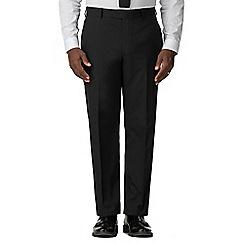 Racing Green - Black Regular Fit Trousers
